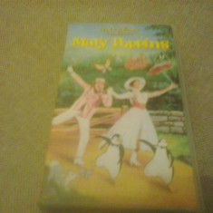 Mary Poppins - Walt Disney Classics - VHS - Caseta video - Film animatie, Engleza