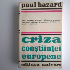Paul Hazard – Criza constiintei europene, 1680-1715