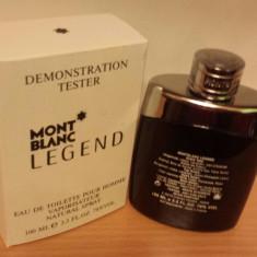 PARFUM TESTER MONT BLANC LEGEND 100ML - Parfum barbati Mont Blanc, 75 ml