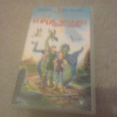 The Magic Sword - Queest for Camelot - VHS - Caseta video, Engleza