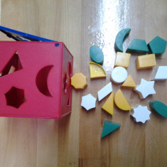 Chicco, cuburi forme geometrice 14*14*14 cm