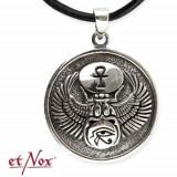 Pandantiv talisman egiptean Scarabeu- Horus- Ankh - Pandantiv fashion