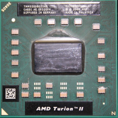 AMD Turion II Dual-Core Mobile ll M520 2.3GHz Socket S1 S1g3 tmm520db022gq - Procesor laptop