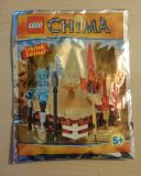 Lego Legends of Chima Fire and Ice weapon set - Limited Edition - 391504