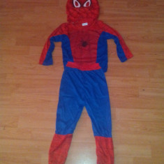 Costum Spiderman 3-9 ani - Costum copii, Marime: S, M, L, Culoare: Din imagine