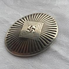 Medalion argint cu simbolul vechi al CRUCII de FIER folosit in timp de popoare