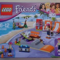 Lego Friends 41099 Parcul pentru skateboarding din Heartlake Skate Park Sigilat