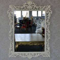 DCO17 - Oglinda clasica baroc bej 105cm x 95cm - Oglinda living