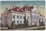 #1804- Romania, Temesvar, Timisoara, c.p. circ. 1920: Scoala Superioara de fete, Circulata, Fotografie