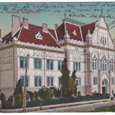 #1804- Romania, Temesvar, Timisoara, c.p. circ. 1920: Scoala Superioara de fete - Carte Postala Banat 1904-1918, Circulata, Fotografie