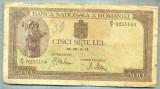 A1295 BANCNOTA-ROMANIA-500 LEI-19-IV-2-(19)41-SERIA0235164-starea care se vede