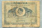 A1231 BANCNOTA-ROMANIA- 100 LEI- 1945 -SERIA FS -starea care se vede