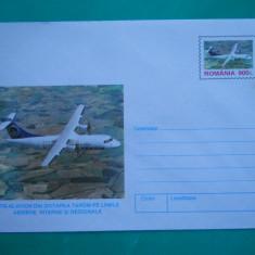 HOPCT PLIC 753 AVION TAROM ATR-42 / AVIATIE