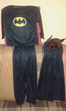 123123Costum Batman  3-9 ani