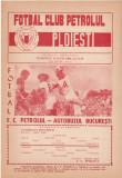 Program meci fotbal PETROLUL PLOIESTI - AUTOBUZUL BUCURESTI 15.06.1980