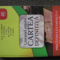 Literatura Romana Cartea definitiva - Teste Bacalaureat
