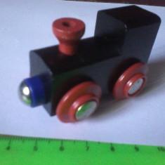 Bnk jc Elc - locomotiva de lemn - Jucarie de colectie