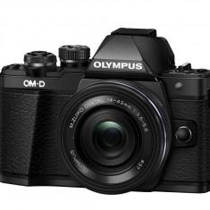 Olympus E-M10 Mark II black + EZ-M1442EZ black Pancake - Aparat Foto Mirrorless Olympus