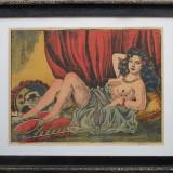 Femeie nud - semnat  H.Funke