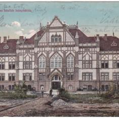 #1803- Romania, Temesvar, Timisoara, c.p. circ. 1910: Scoala Superioara de fete - Carte Postala Banat 1904-1918, Circulata, Fotografie