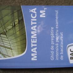 Matematica M1, ghid pregatire bacalaureat - Teste Bacalaureat nomina