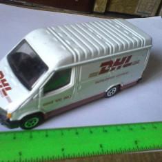 Bnk jc Corgi - Ford Transit DHL 1/43 - Macheta auto Alta