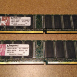 Kit RAM 2x1GB DDR1 KINGSTON PC - Memorie RAM
