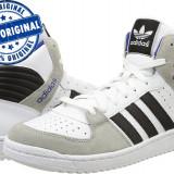 Adidasi barbat Adidas Originals Pro Play 2 - adidasi originali - ghete piele - Adidasi barbati, Marime: 40 2/3, 42, Culoare: Alb, Piele naturala