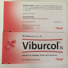 VIBURCOL - supozitoare homeopate pentru bebelusi - val. 09.2021