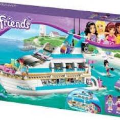 Lego Friends 41015 Dolphin Cruiser Iaht de croazieră cu delfini Original Sigilat
