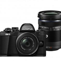 Olympus E-M10 Mark II Double Zoom kit black - Aparat Foto Mirrorless Olympus