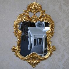 DCO06 - Oglinda clasica baroc aurie 105cm x 70cm - Oglinda living