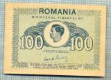 A1221 BANCNOTA-ROMANIA- 100 LEI- 1945 -SERIA FS -starea care se vede