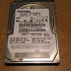 HDD SATA 320GB TOSHIBA 72% HEALTH - HDD laptop Toshiba, 300-499 GB
