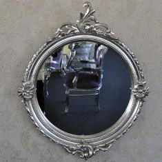 DCO21 - Oglinda clasica baroc argintie 90cm x 75cm - Oglinda living