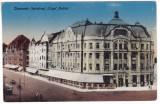 #1802- Romania, Temesvar, Timisoara, c.p. necirc. Palatul Lloyd, tramvai, animat, Necirculata, Fotografie