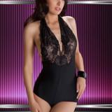 X199 Lenjerie body sexi cu dantela - Body dama, Marime: S/M