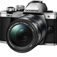 Olympus E-M10 Mark II silver + EZ-M1442 IIR silver - Aparat Foto Mirrorless Olympus