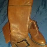 Cizme de piele - Jessica Simpson- masura 36, cizme dama originale aproape noi !