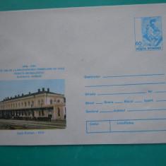 HOPCT PLIC 722 LINIA DE CALE FERATA SUCEAVA -ROMAN /GARA ROMAN 1910