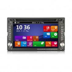 NAVIGATIE 2DIN DVD AUTO GPS CARKIT USB NAVD-6205 - Navigatie auto Witson, Universal