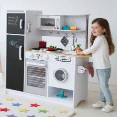Bucatarie Concita Kidkraft bucatarii joaca din lemn jucarie pentru copii fetite, Unisex
