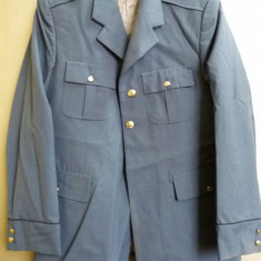 Veston elev scoala de politie 1994 - Uniforma militara, Marime: 50, Culoare: Gri