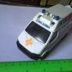 Bnk jc Matchbox Superkings - Ford Transit - Air Ambulance - Macheta auto Alta