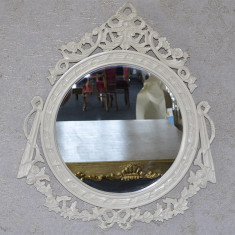 DCO19 - Oglinda clasica baroc bej 95cm x 75cm - Oglinda living