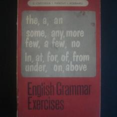 D. CHITORAN, I. PANOVF, I. POENARU - ENGLISH GRAMMAR EXERCISES - Curs Limba Engleza Altele