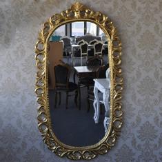 DCO14 - Oglinda clasica baroc aurie 180cm x 100cm - Oglinda living