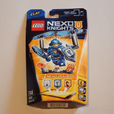 Lego Nexo Knights 70330 SUPREMUL Clay Ultimate Original nou sigilat excelent - LEGO Castle