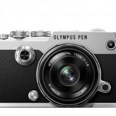 Olympus PEN-F 1718 Kit slv/blk / PEN-F silver + EW-M1718 black - Aparat Foto Mirrorless Olympus
