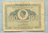 A1212 BANCNOTA-ROMANIA- 100 LEI- 1945 -SERIA FS -starea care se vede